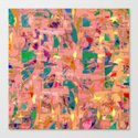 Multicolored joyful background Canvas Print