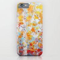 iPhone Cases featuring Aspen October by Ann Marie Coolick