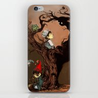 Over The Garden Wall- Wi… iPhone & iPod Skin