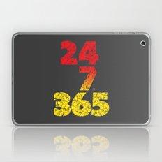 24-7/365 (Red hustle) Laptop & iPad Skin