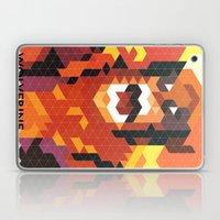 Geometric Wolverine Laptop & iPad Skin