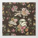 Botanic Wars Canvas Print