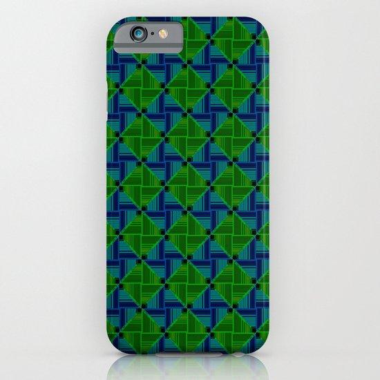 Green Parquet iPhone & iPod Case