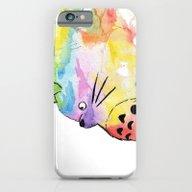 My Rainbow Totoro iPhone 6 Slim Case