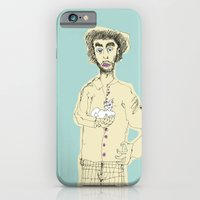 iPhone & iPod Case featuring Gato y picazón by Sonia B