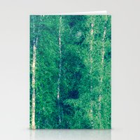The Birch Forest I Stationery Cards