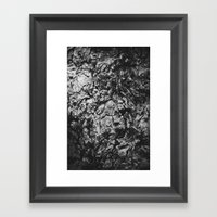 Bark Framed Art Print