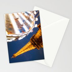 Tour Eiffel Carousel Stationery Cards