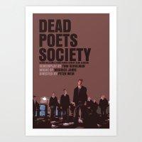 Dead Poets Society Movie… Art Print