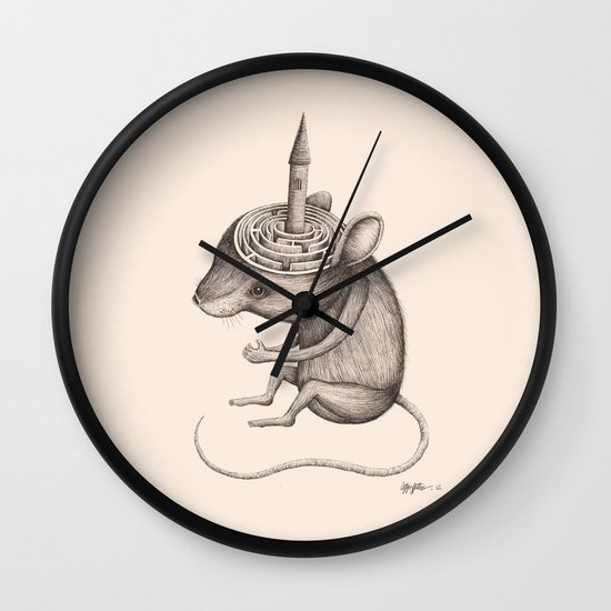 'Lost In My Mind' Wall Clock
