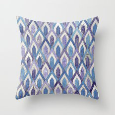 Art Deco Marble Pattern III. Throw Pillow