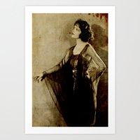 Constance Talmadge Art Print