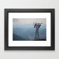 On Top Framed Art Print