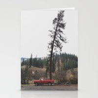 Tree Truck Stationery Cards