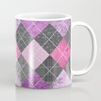 Magic Argyle Quilt Mug