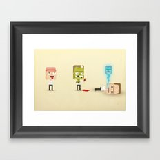 Mind. Body. Soul. Framed Art Print