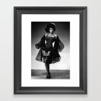 Iconic Images: Miss Tops… Framed Art Print