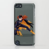 iPod Touch Cases featuring Batgirl by taryndraws
