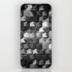 as the curtain falls (monochrome series) iPhone & iPod Skin