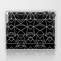 Ab Mirror Black Laptop & iPad Skin