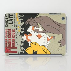 Moolin Rouge - This Cow Can Can Can iPad Case