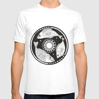 Magic Fish I Mens Fitted Tee White SMALL
