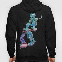 Zombies And Skateboards Hoody