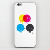 YM love CK hate iPhone & iPod Skin