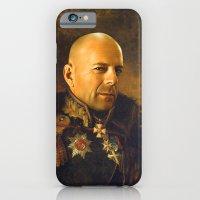 Bruce Willis - replaceface iPhone 6 Slim Case