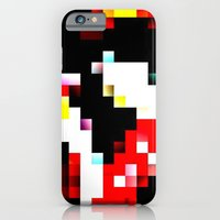 pixel iPhone & iPod Cases featuring pixel by shopcicelysiller