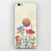 Flower Tales 4 iPhone & iPod Skin