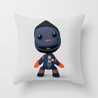 Sackboy (Henry Melton) Throw Pillow