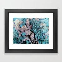 Wisdom Veins Framed Art Print
