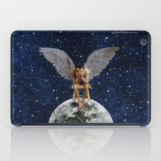 If you stop believing, they fade away iPad Case