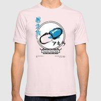 Capsule Gang Sake (Akira) Mens Fitted Tee Light Pink SMALL