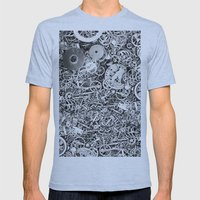 Bits of the work Mens Fitted Tee Athletic Blue SMALL