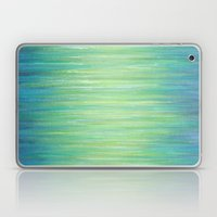 Ombre Aqua Bliss painting Laptop & iPad Skin