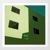 Squares Art Print