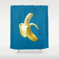 Banana Shower Curtain
