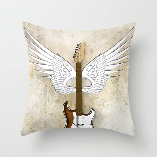 Live Life Loud Throw Pillow