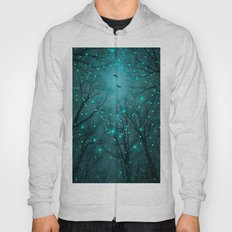 Silently, One by One, the Infinite Stars Blossomed (Geometric Stars Remix) Hoody
