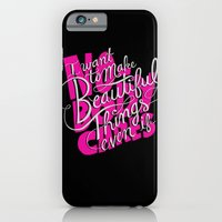iPhone & iPod Case featuring ...even if nobody cares by Chris Piascik