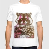 Badass Pets : The Royal … Mens Fitted Tee White SMALL