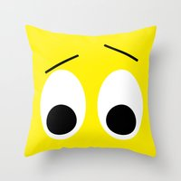 I is Surprised Throw Pillow