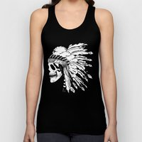 Black And White Native A… Unisex Tank Top