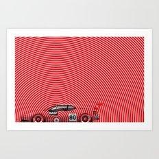 H.J. Stuck, BMW M1, 1980 Art Print