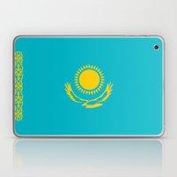 Kazakhstan Country Flag Laptop & iPad Skin