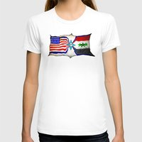 flag T-shirts featuring Flag by ℳajd