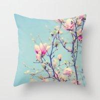 Sweet Magnolia 2 Throw Pillow