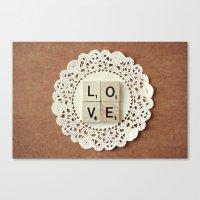 love... Canvas Print